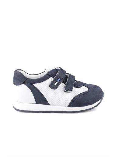 Cici Bebe Ayakkabı Nubuk Erkek Çocuk Ayakkabısı Lacivert